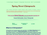 Spring Street Chiropractic Dr. Allan Sicignano, Chiropractor - New York, NY
