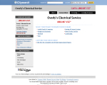 Overly's Electrical SVC - Springdale, PA
