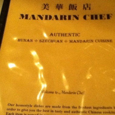Mandarin Chef - Seattle, WA