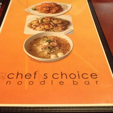 Chef's Choice Noodle Bar - Bakersfield, CA