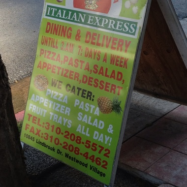 Italian Express - Los Angeles, CA