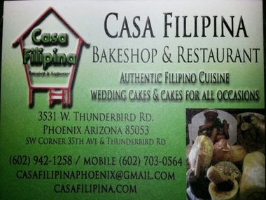 Casa Filipina Bakeshop INC - Phoenix, AZ