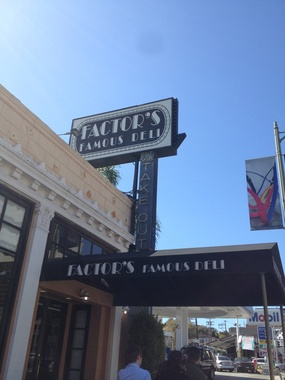 Factor's Famous Deli - Los Angeles, CA