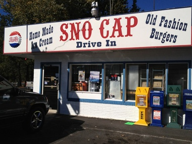 Sno Cap Ice Cream - Sisters, OR