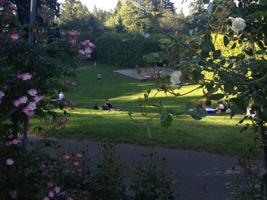 Washington Park Rose Garden Amphitheatre - Portland, OR