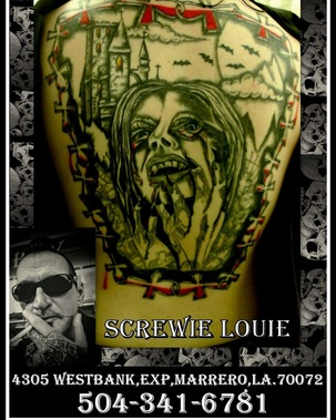 Pigment tattoo in new orleans la 70115 citysearch for Hell or high water tattoo