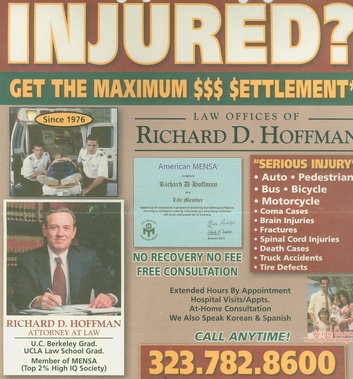 Richard D. Hoffman Law offices - Beverly Hills, CA