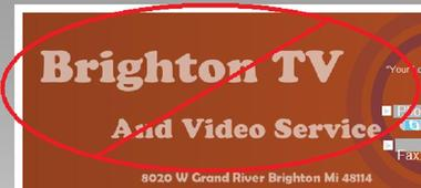 Brighton TV & Video SVC - Brighton, MI
