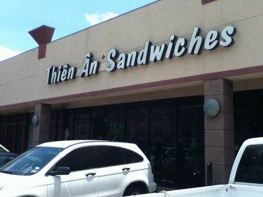 Thien An Sandwiches - Houston, TX
