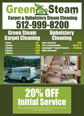 Green Steam Carpet And Upholstery Cleaning Austin Tx