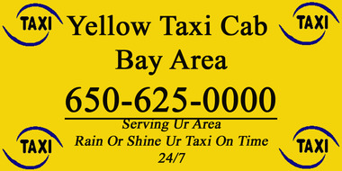 Yellow Town Taxi Cab - Mountain View, CA
