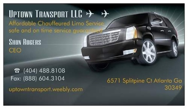 Uptown Transport LLC Airport and Limo Service - Atlanta, GA