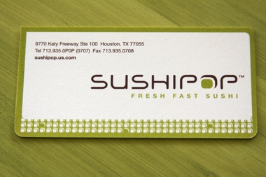 Sushipop - Houston, TX