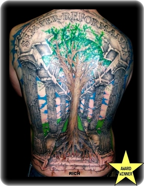 Pens needles custom tattoo colorado springs co for Tattoo parlors colorado springs