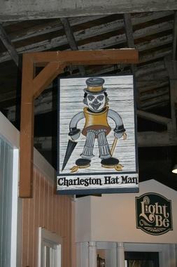 Charleston Hat Man - Charleston, SC