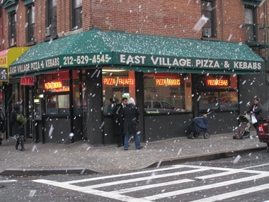 East Village Pizza & Kebabs - New York, NY