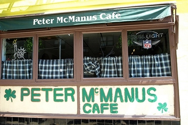 Peter Mcmanus Cafe Menu