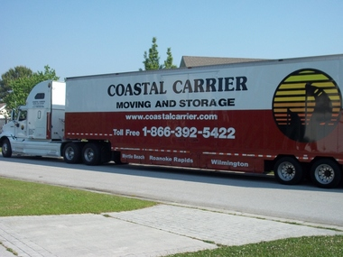 Coastal Carrier Moving & Strg - Wilmington, NC