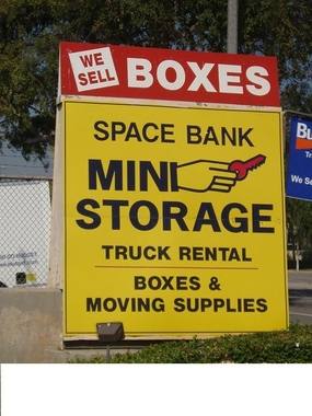 A Space Bank Mini Storage - Pasadena, CA
