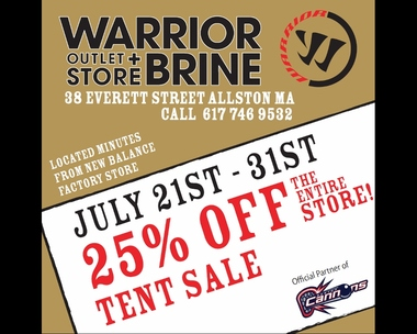 Warrior & Brine Outlet Store - Allston, MA