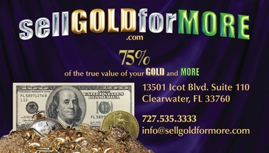 sellGOLDforMORE - We buy your gold, diamonds & silver at top prices. - Clearwater, FL