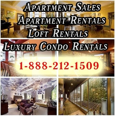 NYC Apartment Rentals - NYC Apartment Sales - JUST LISTED Apartments - New York, NY