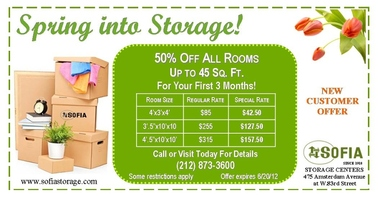 Sofia Storage Centers - New York, NY