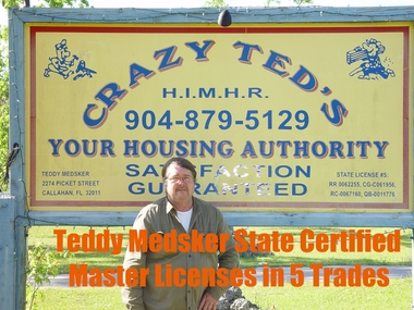 Crazy Ted's Home Improvement and Mobile Home Repair - Callahan, FL