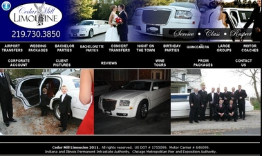 Cedar Mill Limousine - Crown Point, IN