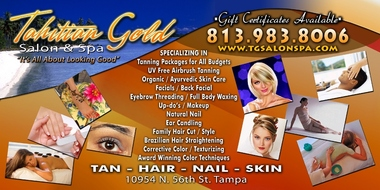 Tahitian Gold Salon & Spa Tanning - Tampa, FL