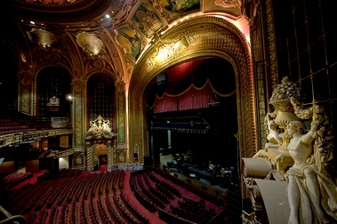 This theater has gone through several name changes, first called the  Metropolitan Theatre, or