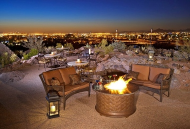 Top of The Rock Restaurant At The Marriott Buttes Resort - Tempe, AZ