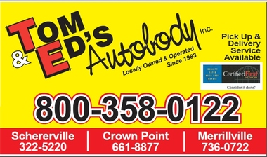Tom & Ed's Autobody Inc - Crown Point, IN
