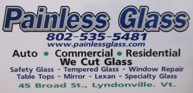 Painless Glass - Lyndonville, VT