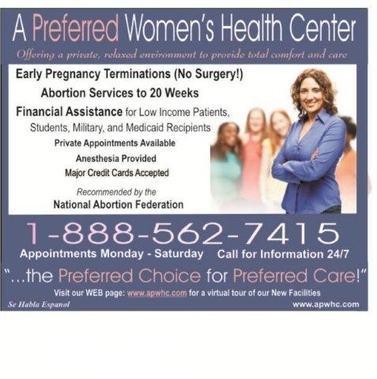 A Perferred Women's Health Ctr - Charlotte, NC