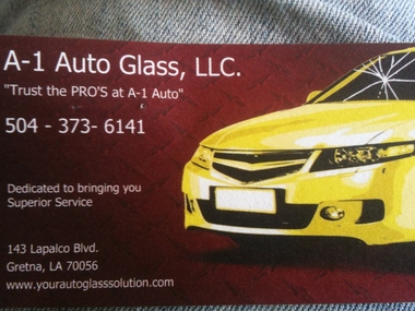 A-1 Auto Glass