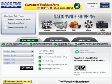 Woodfin Guaranteed Used Auto Parts
