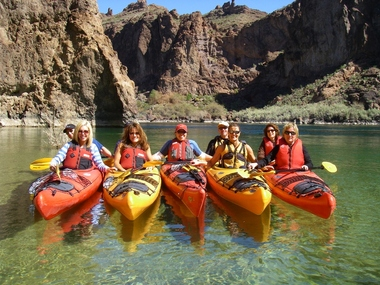 Share the joy of crystal-clear water flowing through stunning desert wilderness on this virtual experience. In , the Secretary of Interior designated this portion of the Colorado River as a National Water Trail, making it the first in the Southwest and the first to flow through a desert. You can.