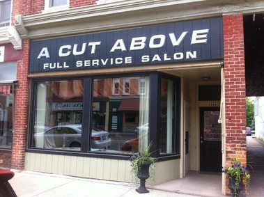 A cut above full service salon for Above it all salon