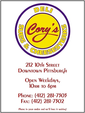 Cory's Subs - Pittsburgh, PA
