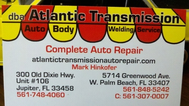 Atlantic Transmission - West Palm Beach, FL