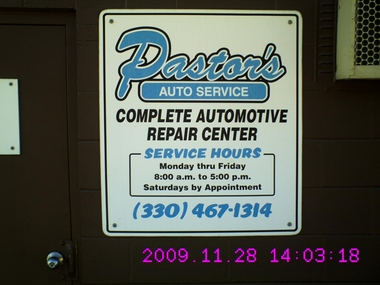 Pastor's Auto Services - Macedonia, OH