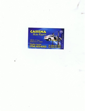Cassina Auto Repair - Hollywood, FL