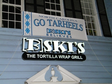 B SKI'S - The Wrap ? Redefined - Chapel Hill, NC