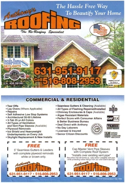 Anthony's Roofing - Brentwood, NY