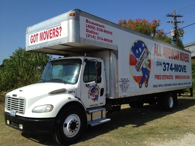 All American Movers - Beaumont, TX