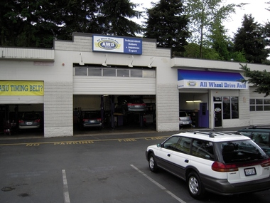 All Wheel Drive Auto: INDEPENDENT SUBARU REPAIR - Kirkland, WA