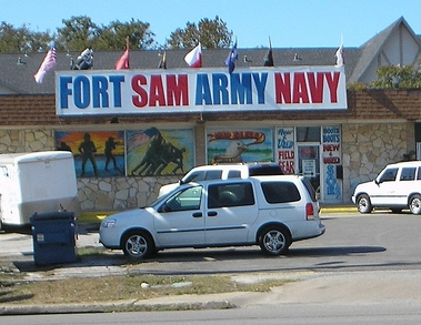 Fort Sam Army-Navy Store - San Antonio, TX