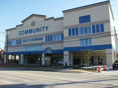 Community self storage houston tx for Storage 77080