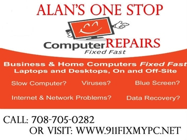 Alan's One Stop Computer Repairs - Cicero, IL